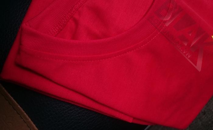 mẫu vải áo cờ đỏ sao vàng 3